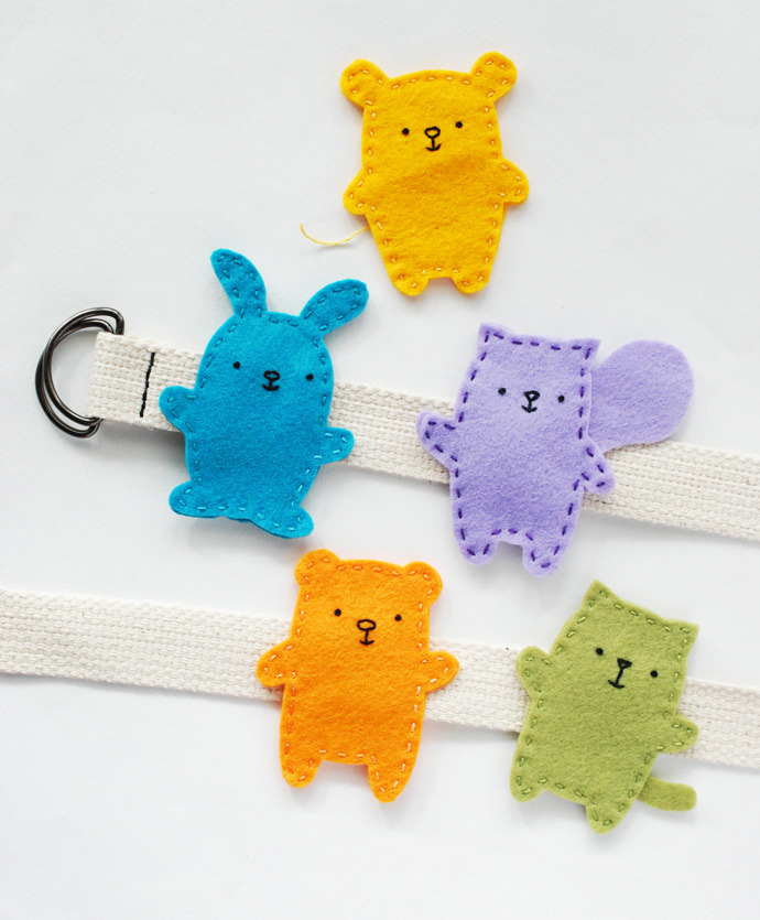 Easy-Sew Animal Belt Buddies | Handmade Charlotte