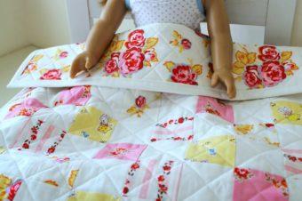 Patchwork Doll Quilt