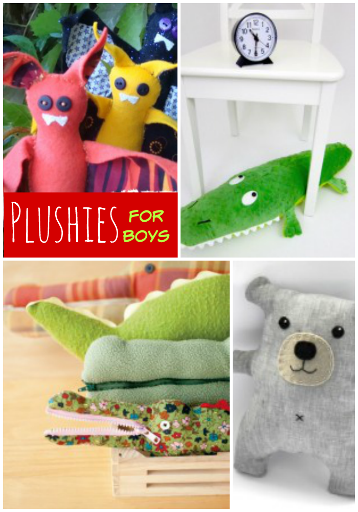 14 Plushies for Boys