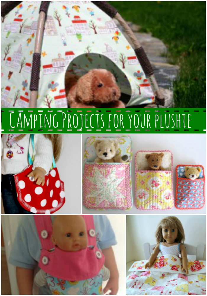 sewing projects for your plushie camp out