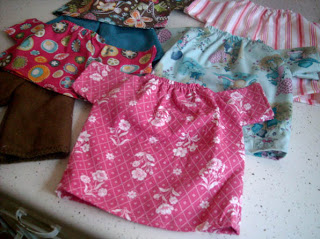 doll clothes- simple sewing patterns