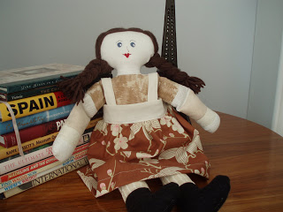 scrap fabric doll tutorial - free pattern