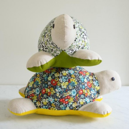 Myrtle the Turtle Stuffed Animal Pattern - it's free!