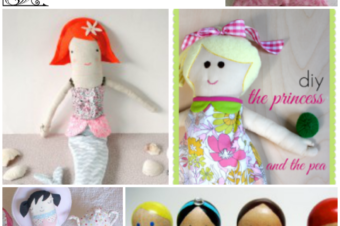 5 Princess Dolls You Can Make!