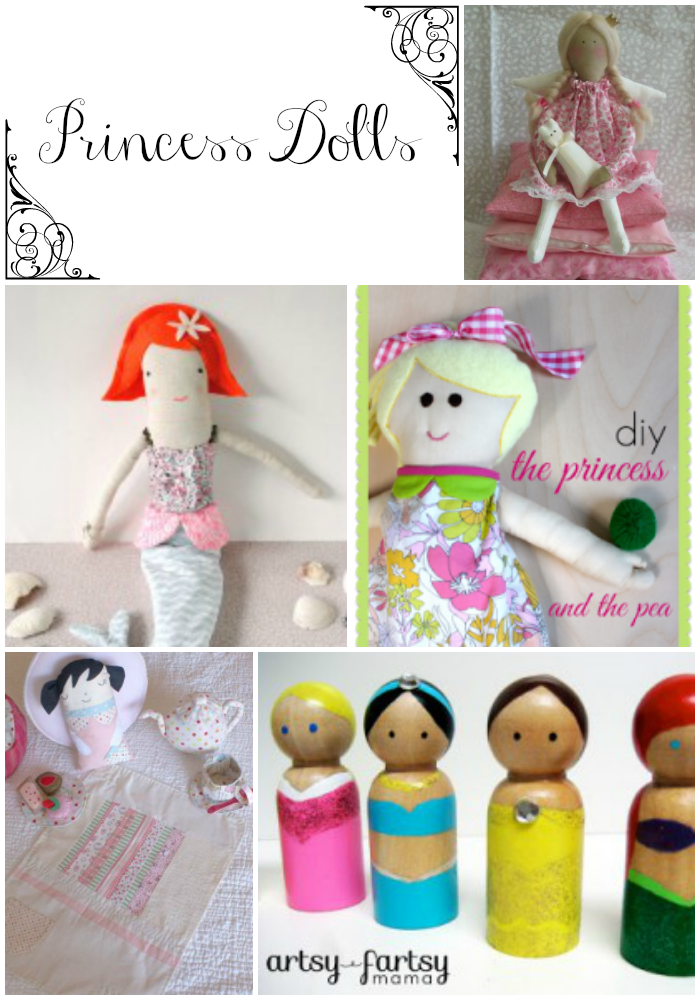 diy princess dolls