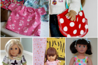 9 Clothing Patterns for Dolls