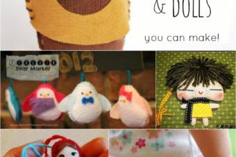 10 Teenie Tiny Plushies and Dolls