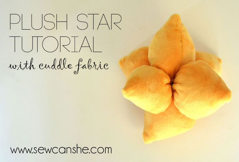 Easy Plush Star Tutorial