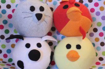10 Free Farm Animal Plushie Patterns