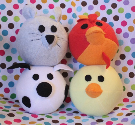 10 Free Farm Animal Plushie Patterns