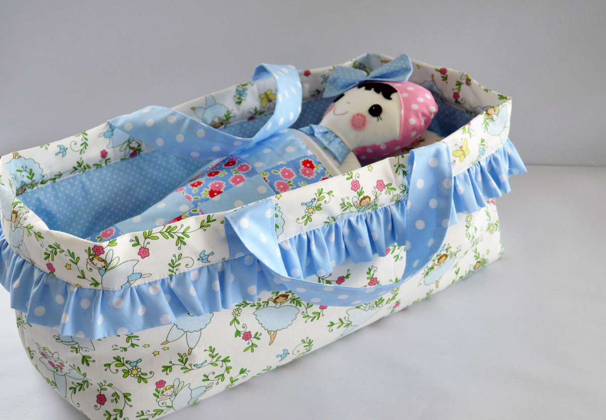 Doll + Toy Carrycot Tutorial