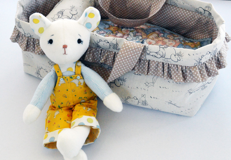 Doll + Toy Carrycot Tutorial – Plushie Patterns