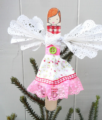 Wood Jolly dollies Tutorial
