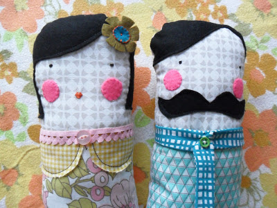 Monsieur et Madame Lolly Doll Tutorial