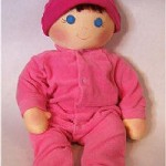 Baby Bows Free Cloth Doll Pattern