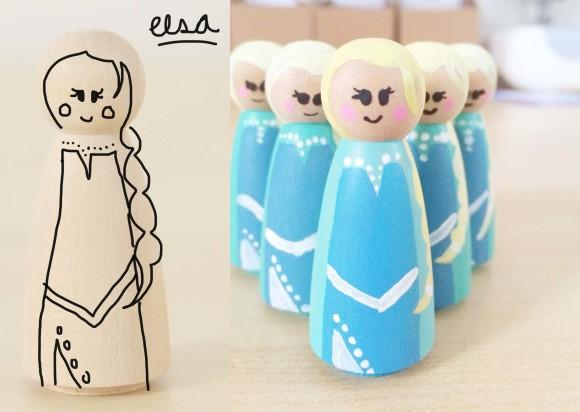 How to Paint Ana & Elsa