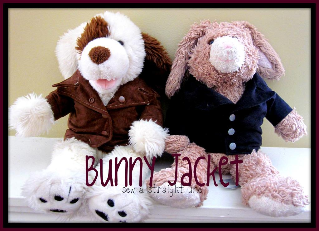 Bunny Jacket for Your Stuffed Animals