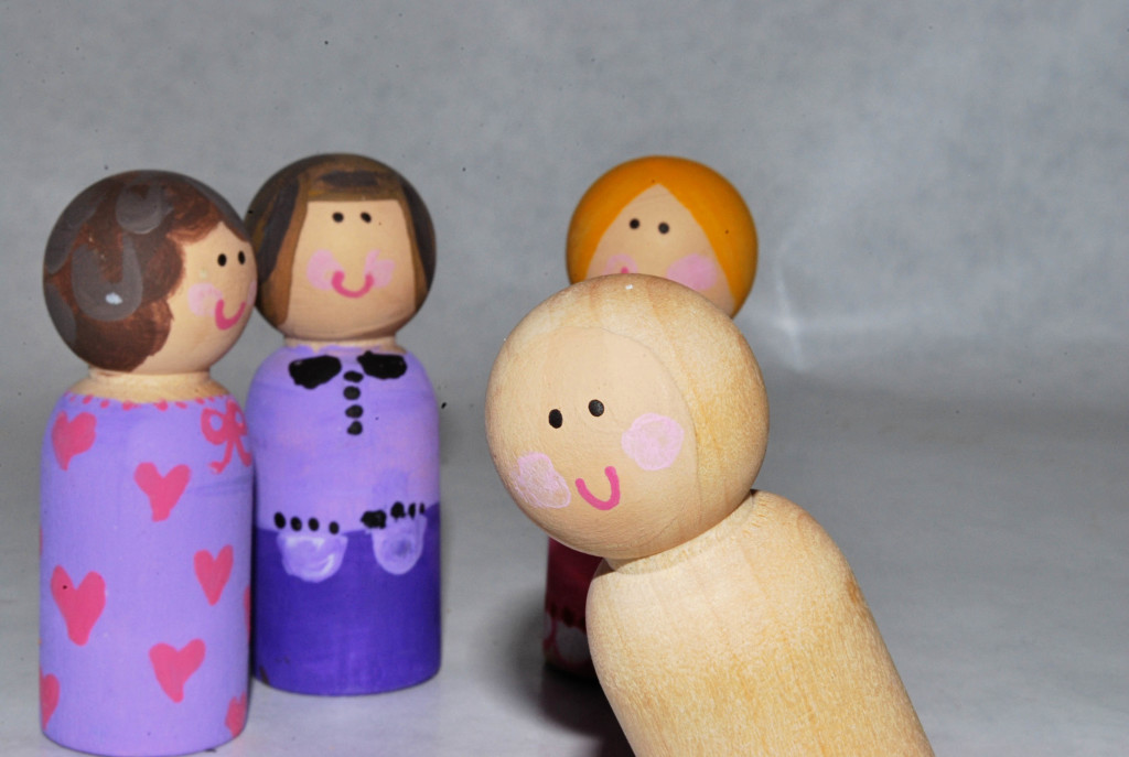 peg doll tutorial - make your own! Plushie Patterns