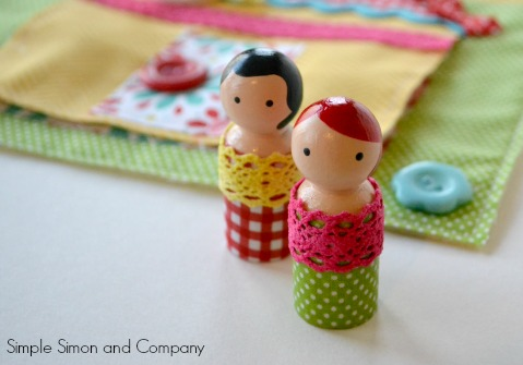 Peg Doll Book Page