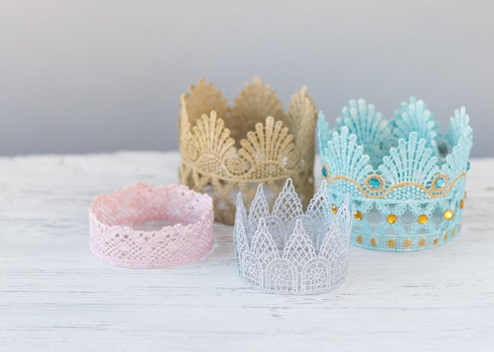 Make a Lace Crown For Your Little Princess/Prince
