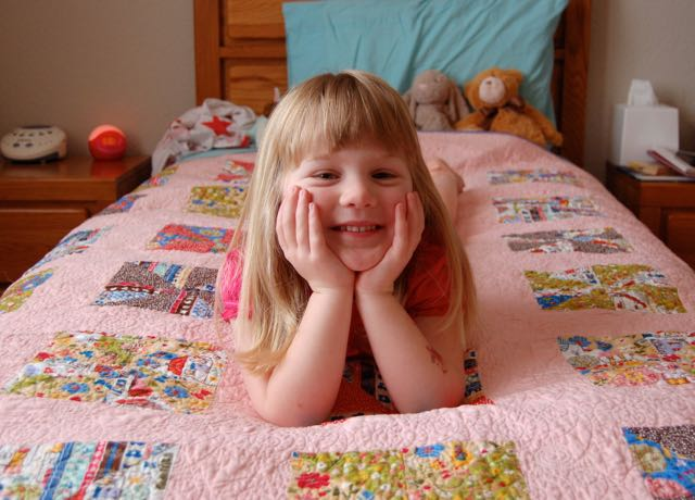 Tips for Quilting with Kids