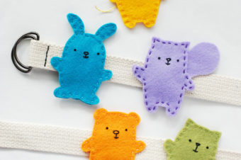 Easy-Sew Felt Animal Buddies