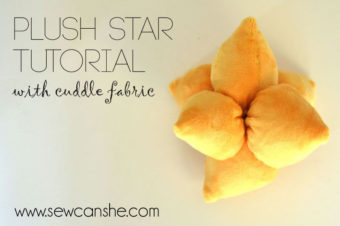 Easy Plush Star Tutorial