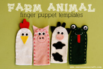 Finger Puppets: Farm Animal