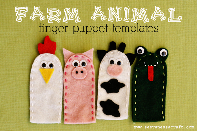 Finger Puppets: Farm Animal