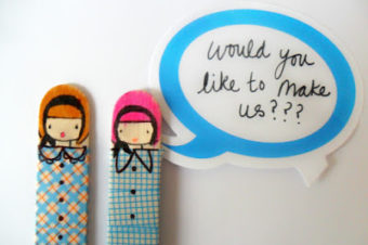 Craft Stick Dolls – Miss Lolly Dolly