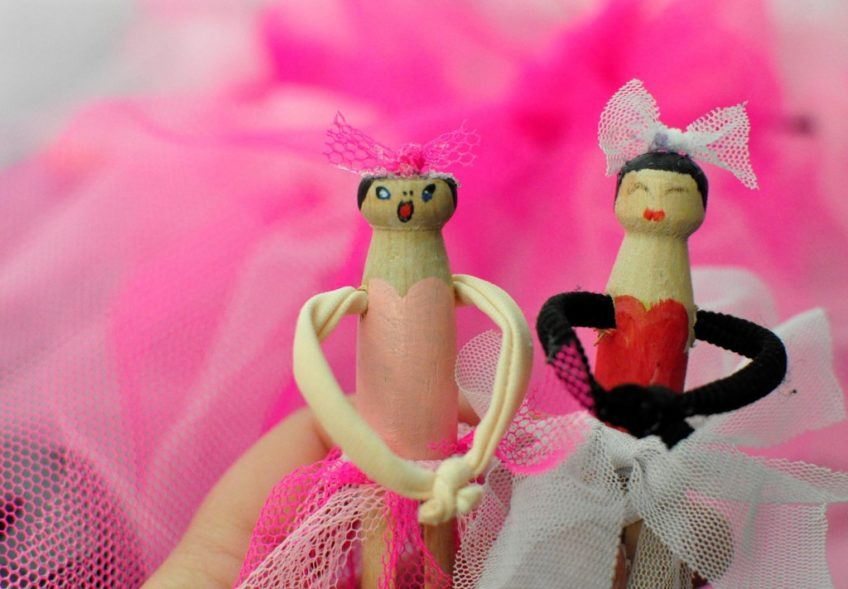 How to Make a Ballerina Peg Doll