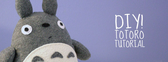 Totoro Doll DIY Tutorial