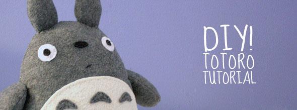 Totoro Doll DIY Tutorial
