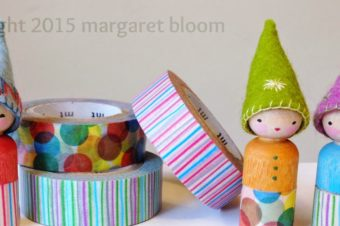 Peg Dolls & Washi Tape