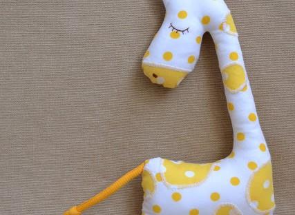 Жираф со словами