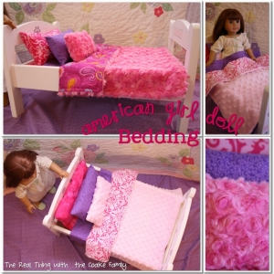 Free American Girl Doll Bedding Pattern