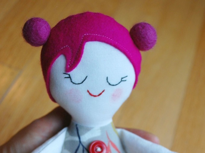 Free Doll Pattern: The Josephine Doll