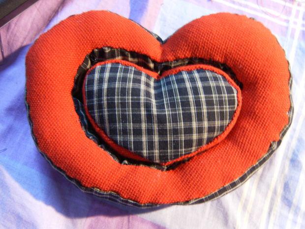 Valentine plush - Heart Shaped