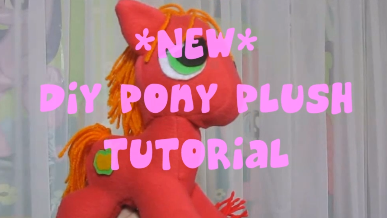 My Little Pony Plush Pattern - Free!