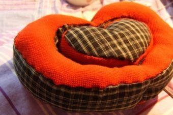 Valentine plush – Heart Shaped
