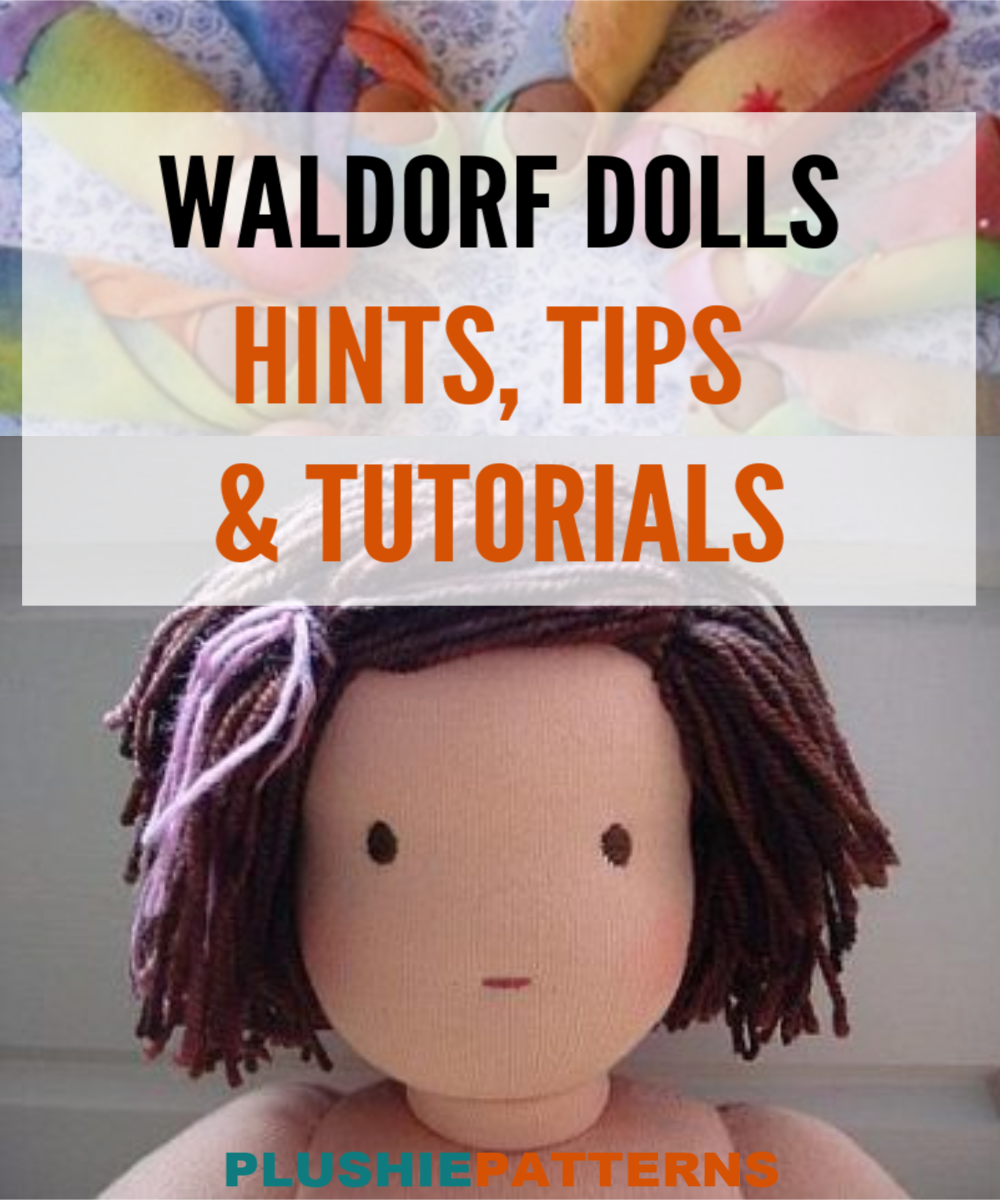 how to make a waldorf doll