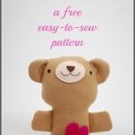 Valentine Teddy Bears DIY