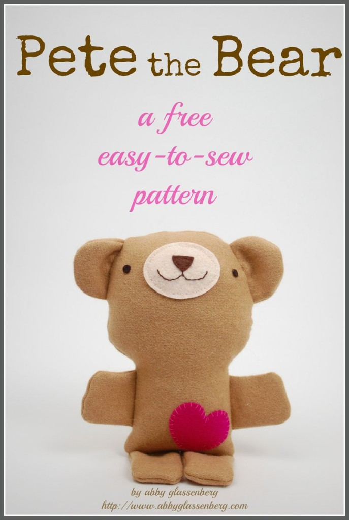 Valentine Teddy Bears DIY – Plushie Patterns