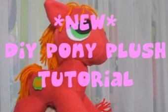 My Little Pony Plush Pattern – Free!