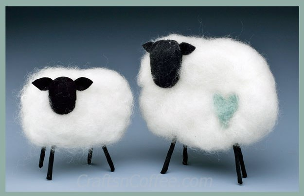 diy-felted-spring-lambs