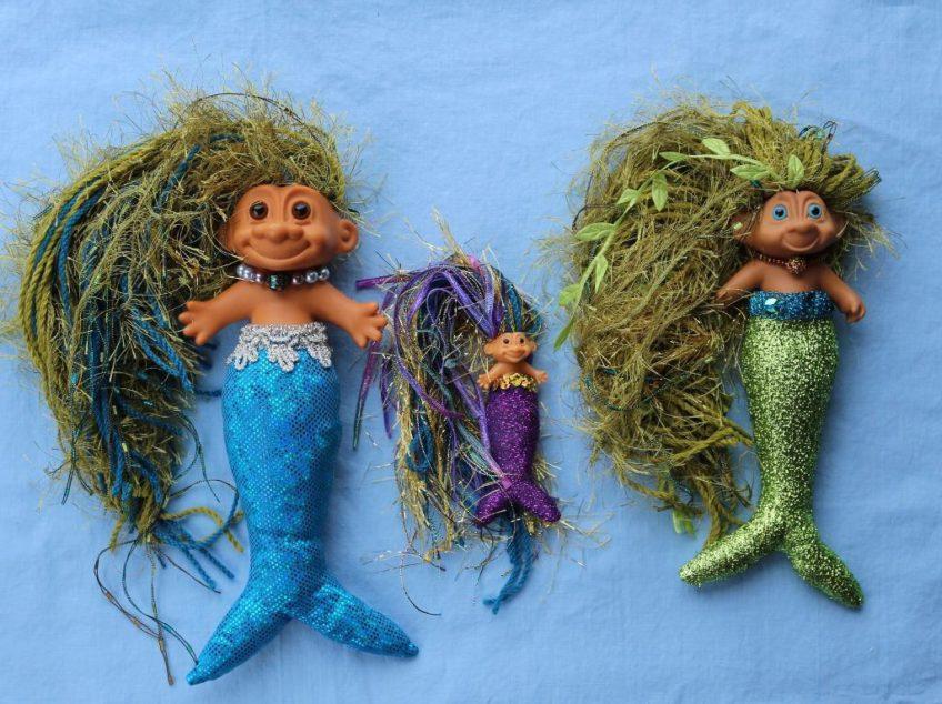 Glitzy Mermaid Tail Tutorial