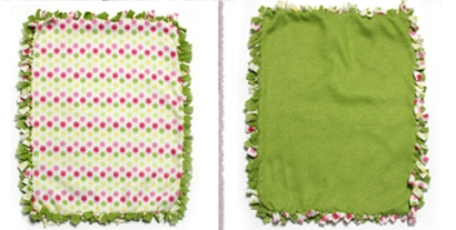 How to Make a No Sew Doll Blanket