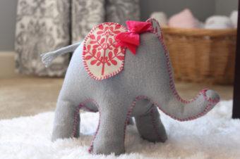 How to Make An Elephant Plushie
