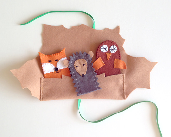 Forest Friends Finger Puppets