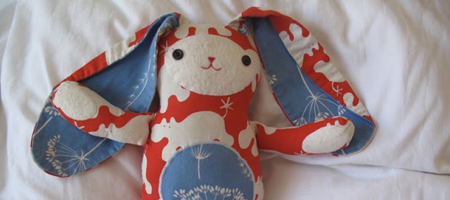 Jack Rabbit Softie – Free Pattern